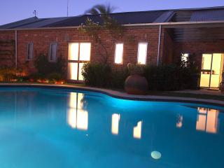 Solar Heated out door pool