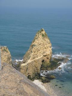 Point du Hoc just 15 minutes from us