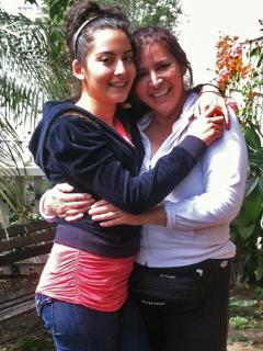 Mariella and Chela, mother daughter cleaning team