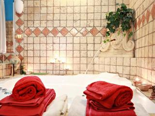 SPA Studio Near Trastevere Jacuzzi, WiFi A/C Patio