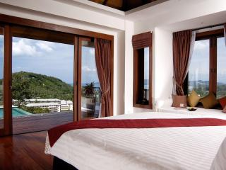 Master Bedroom with amazing views.