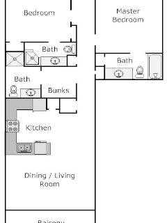 Great floorplan - open, functional, accommodating!