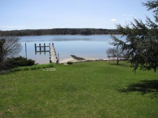 HINES POINT CLASSIC WATERFRONT HOME WITH PRIVATE BEACH, DOCK AND MOORING - VH NBIN-57, Vineyard Haven