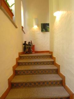 Stairs from Guest Level to living area