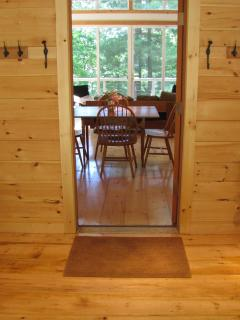 The Tree House - Mudroom Entrance