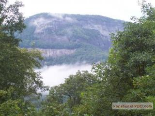 Whiteside Mountain in the Clouds