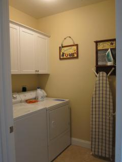 Private Laundry room at Las Olas