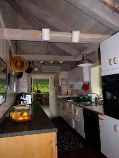 Spacious cook's kitchen has every appliance and amenity.  Turn out big or small meals in style!