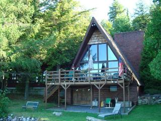 Secluded Lakefront Chalet - Dannemora vacation rentals