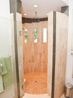 Spa-sized shower