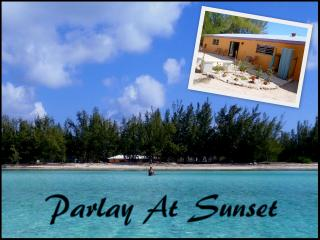 Parlay At Sunset - A Bahamian Beach House, Tarpum Bay