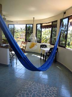 Penthouse Hammock/living room with a view