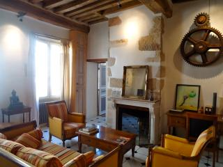 Spacious high ceiling medieval old town apartment, Dijon