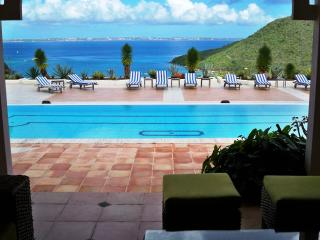 LE PRIVILEGE...huge villa with stunning views of Marcel Cove., Anse Marcel