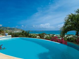 COCCINELLE... 4 master suites perfect for couples, spectacular views of Orient Beach, Orient Bay