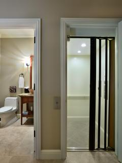Your villa includes a private elevator - perfect for mobility challenged guests.
