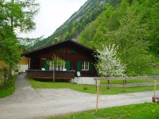 Traditional Swiss Chalet, Stechelberg