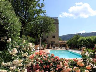 Beautiful stone tower with park and swimming pool, Spoleto