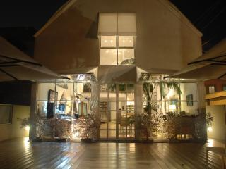 Front Entry at Night
