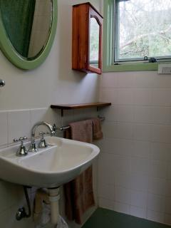 Bathroom showing vanity
