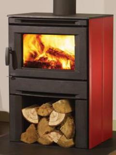 2012 New woodstove replacing stove shown in photo #12.  Photo by manufacturer -Regency Co.