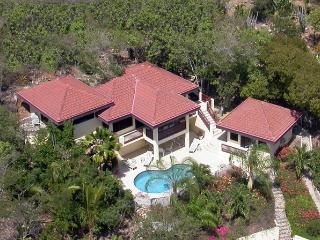 Satori Villas - Satori Main Villa at Mahoe Bay, Virgin Gorda - Secluded Villa, Beautiful Views, Peac
