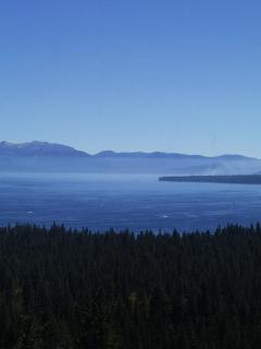 Morning Mist over the lake as viewed from Alta Bedroom