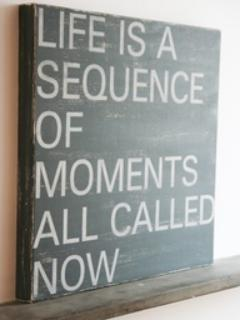 Where will you spend your moments?