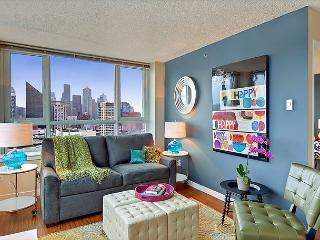 Chic and trendy 21st floor apartment with amazing downtown views! - Seattle vacation rentals
