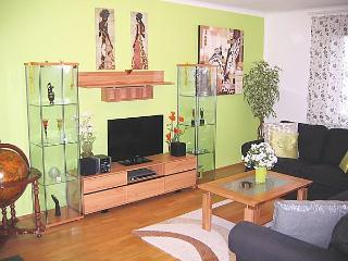 Living Room: LCD and cable-TV