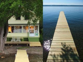 Cozy Cove Cottage Lakeside on Cayuga Lake NY - Seneca Falls vacation rentals
