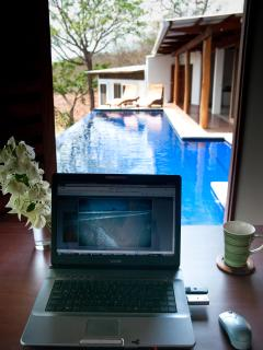 Work easily from Casa Francesca with our reliable wifi!