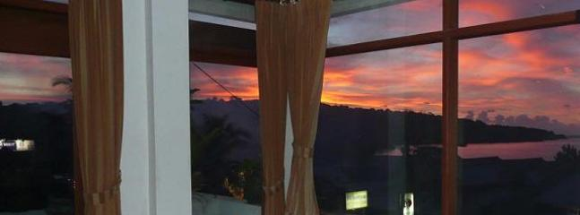 Sunsets are magical from the sun terrace bedroom