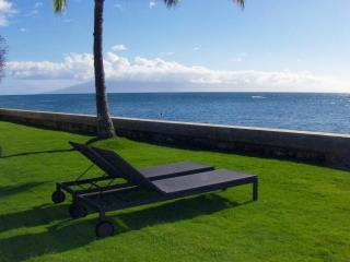 Lounge chairs at 12ft to the ocean, relax, read a book...