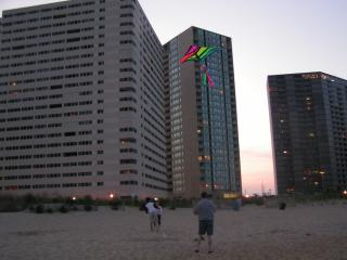 Building from the beach