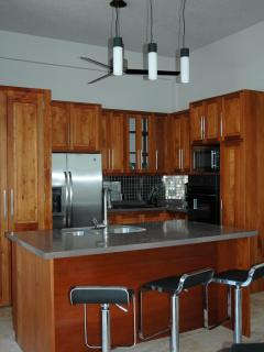 Full kitchens in each unit