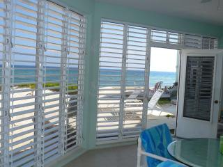 Beachfront ground floor condo rental The Laurelei, Grand Cayman