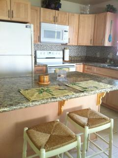 Inviting Kitchen - New maple kitchen with granite counters
