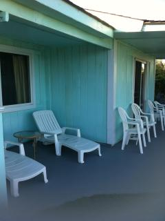 Your many chairs for relaxing outside