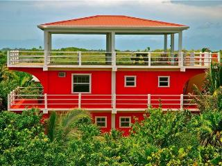 Casa Roja a modern tropical house on Caye Caulker