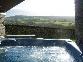BANK END LODGE (Hot Tub), Grizebeck, Kirkby in Furness, South Lakes