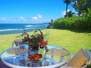 Sealodge J1: Oceanfront and private 2br/2ba, more like a cottage than a condo, Princeville
