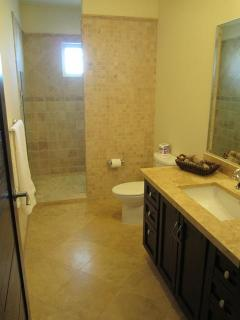 2nd Bathroom with full walk-in shower