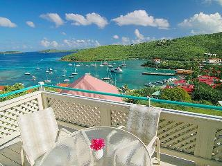 Fabulous sea view 2 bedroom/2 bath St. John Condo, Cruz Bay