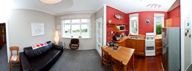 Kitchen,Dining,Living Room Panorama