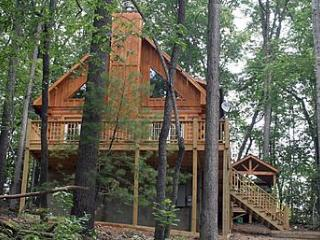 Wooded and Private - The Woodlands Cabin #2, Bryson City