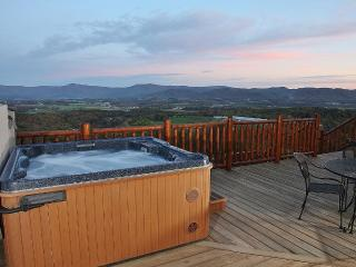 Hot Tub Scenery on Our Decks