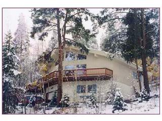 Haus Bergwald  nestled on the side of Peak 7, Breckenridge
