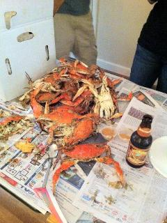 Catch your own dinner. Lots of Crabs in summer.