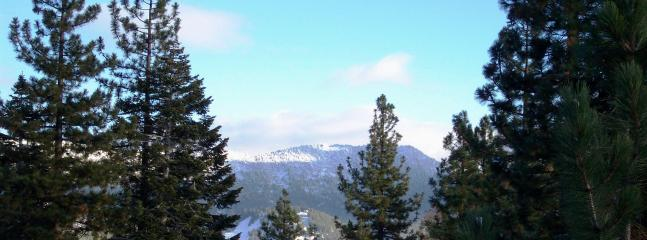 Looking toward Diamond Peak from the house a few years ago